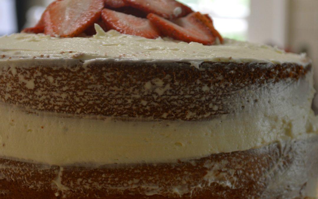 Let's Bake Yellow Cake!